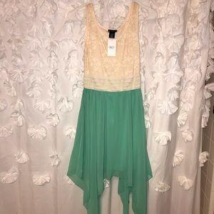 Rue 21 teal dress